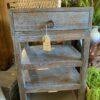 Rapika Side Table - Blue Wash