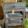 Rapika Side Table - Blue Wash