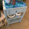 S-Leg Side Table - Ocean Blue