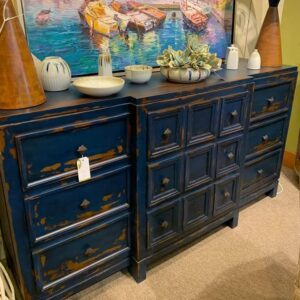 Ventura Dresser - Blue Electric