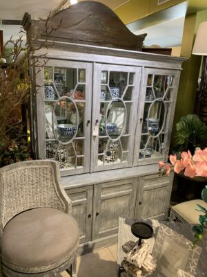 6 Door Cabinet - Grey