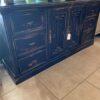 Van Buren Dresser - Black Electric