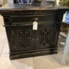 Van Buren Night Stand - Black Electric
