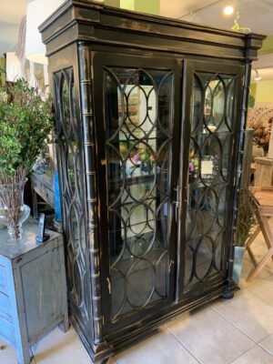 Marianna Cabinet - Black Electric