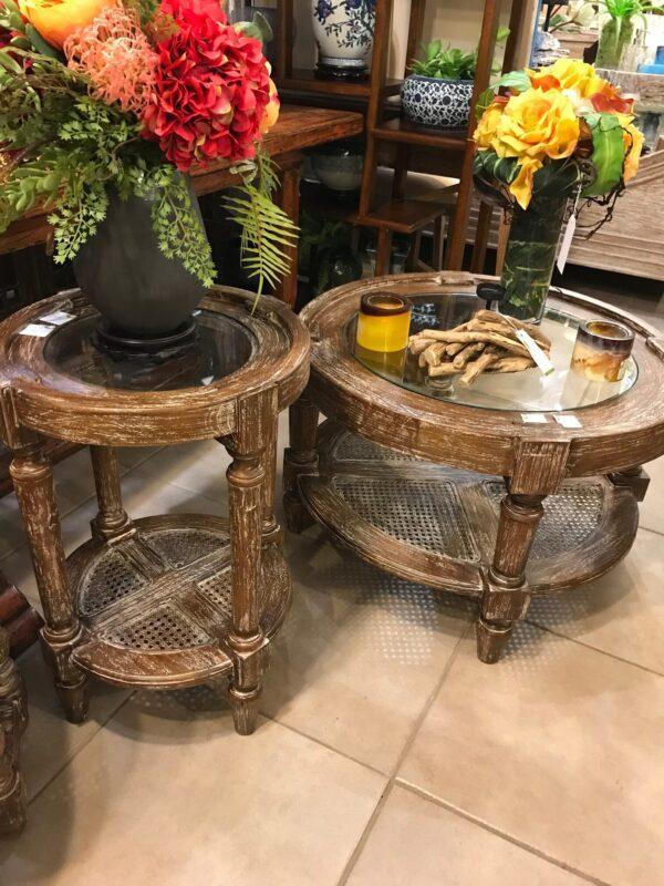 Round Coffee Table - Pecan