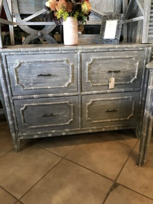 4-Drawer Filing Cabinet - Grey