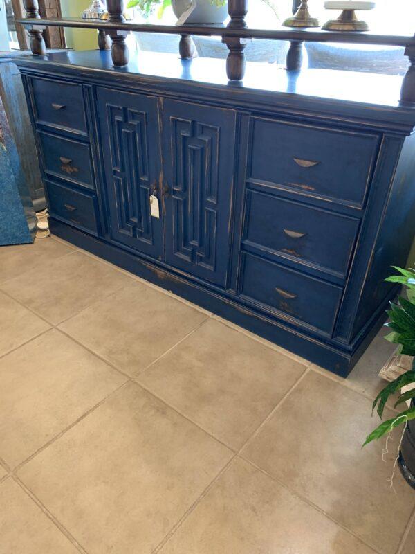 Van Buren Dresser - Blue Electric