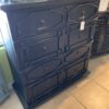 8-Drawer Chest - Black Electric