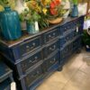 Manor Dresser - Blue Electric
