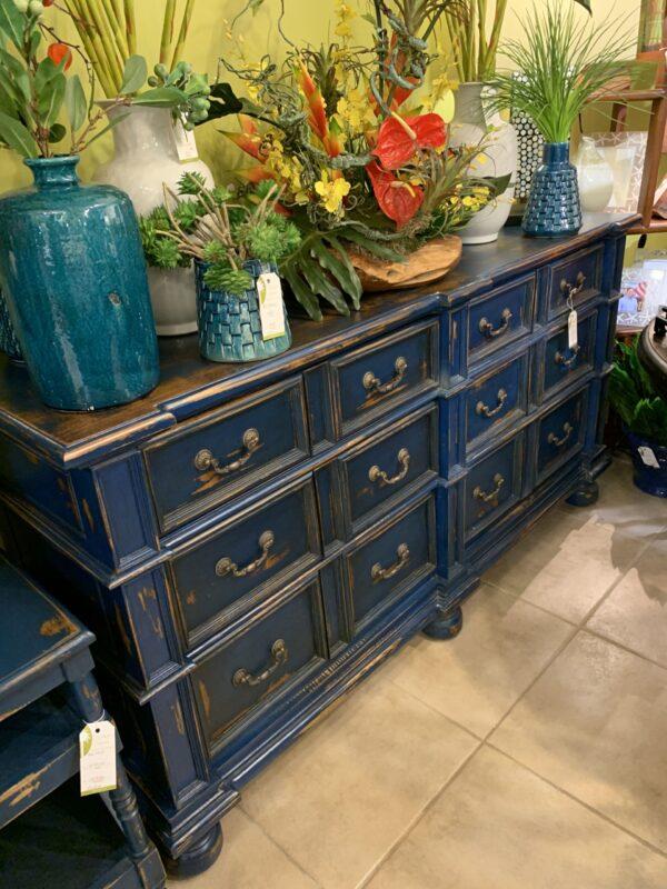 Manor Dresser - Blue Electric