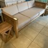 Diamond Teak Bench - 3 Seater