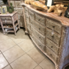Tropical Dresser - White Wash