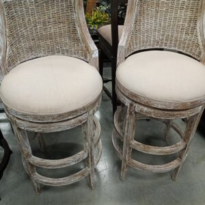 Cabana Bar Stool - White Wash