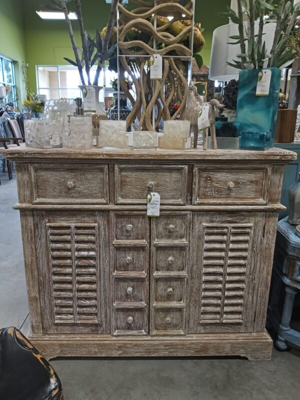 Large Crosby Chest - White Wash