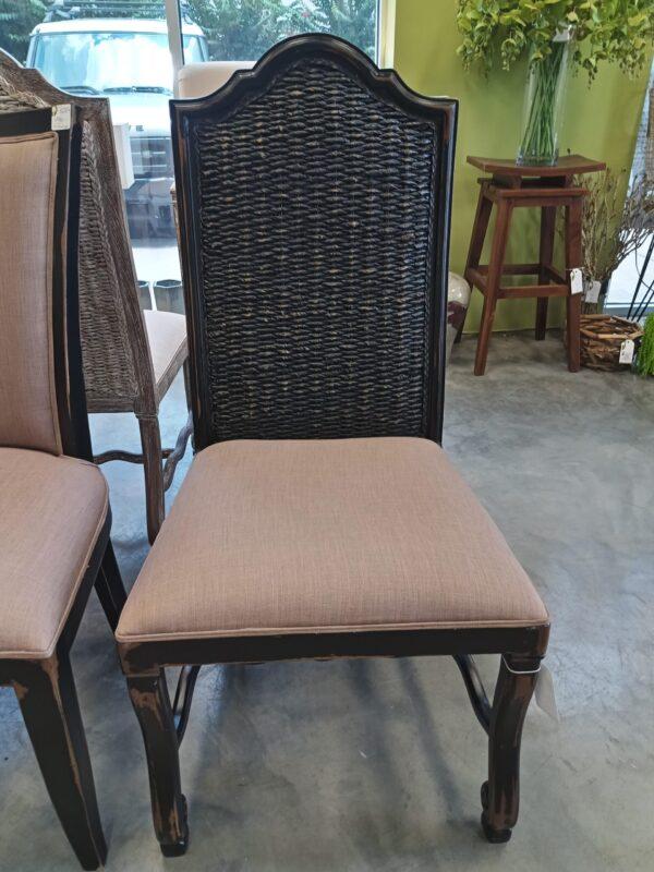 Batik Side Chair - Black Electric