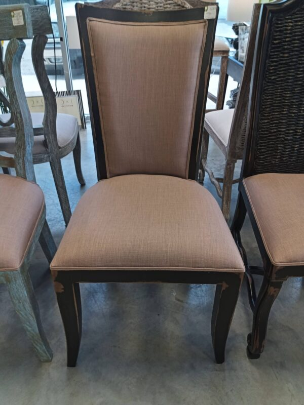 New Sabica Side Chair - Black Electric