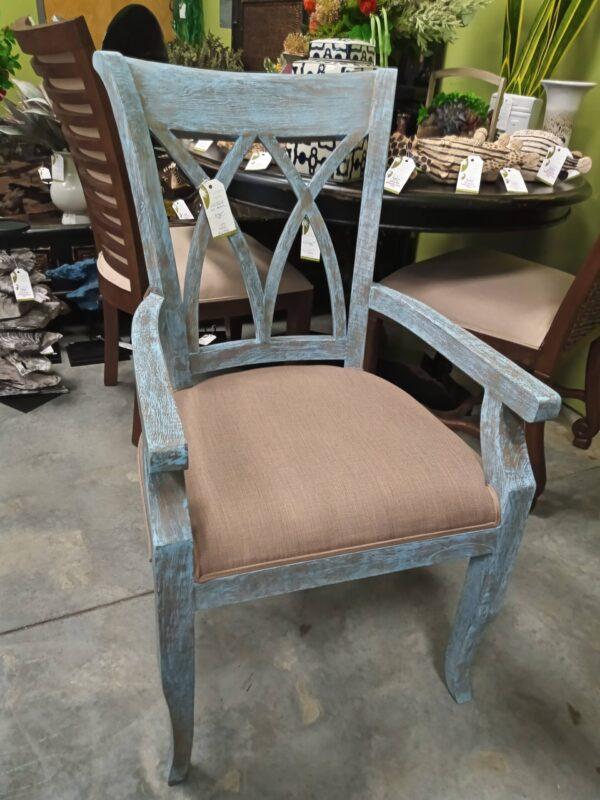 XX Arm Chair - Blue Wash