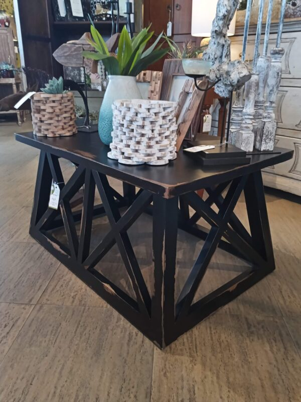 Bruckner Coffee Table - Black Electric