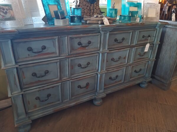 Manor Dresser - Ocean Blue
