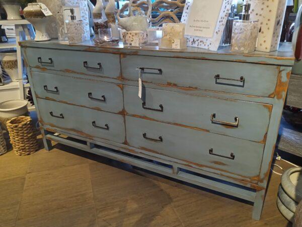 Done Minimalist Dresser - Blue Ocean