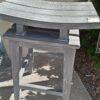 Saddle Bar Stool - Grey