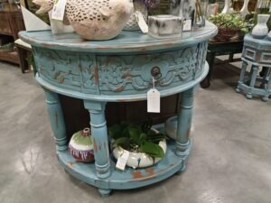 Manor Console - Ocean Blue