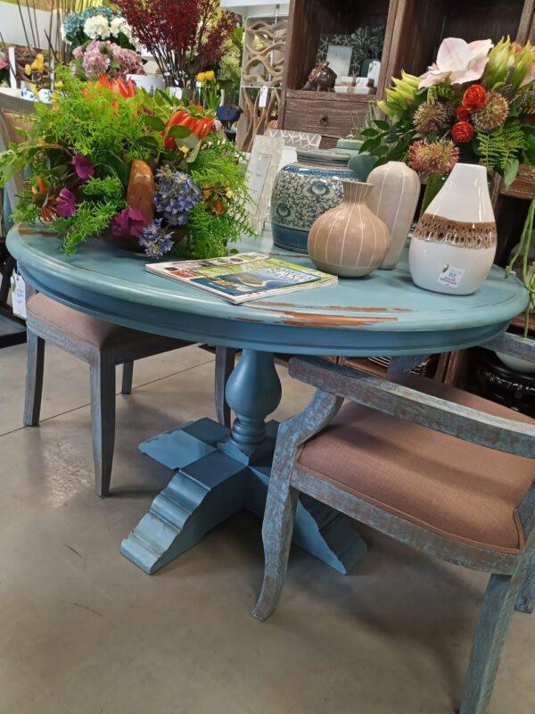 Ziad Table - 4ft - Ocean Blue