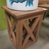 Teak XX Side Table