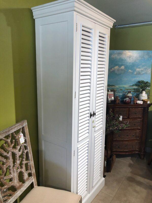Delta Cabinet - Solid White