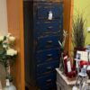 6 Drawer Cabinet - Electric Blue