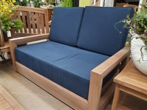 Teak Savannah 2-Seater Couch