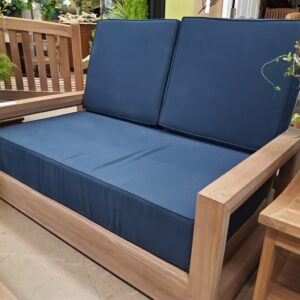 Teak Savannah 2-Seater Couch