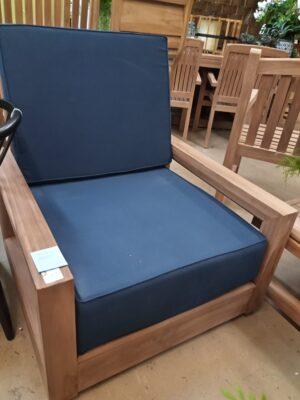 Teak Savannah 1-Seater Chair