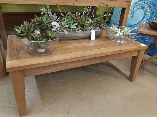 Teak Diamond Coffee Table