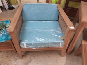 Teak Diamond Chair