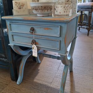 Canoli Side Table - Ocean Blue