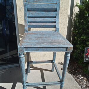 Archipelago Bar Stool - Blue Wash