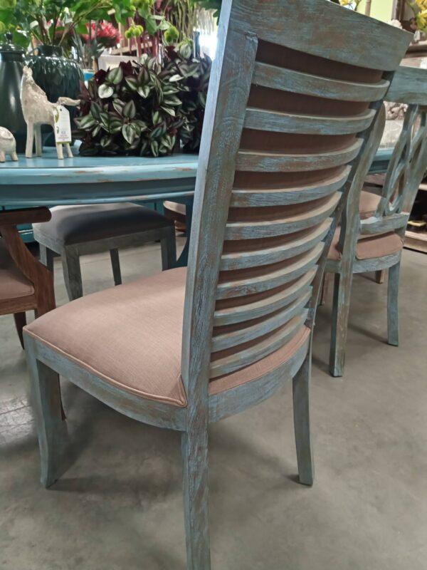 New Sabica Side Chair - Blue Wash