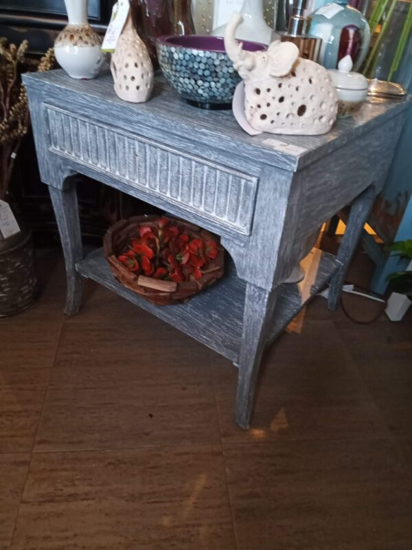 Lundy Side Table - Grey