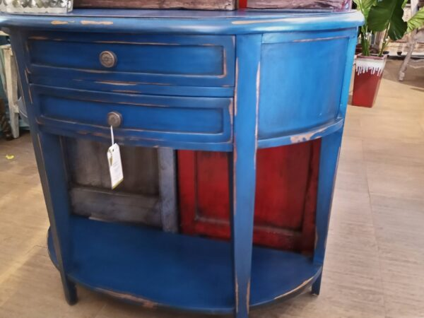 Newport Console - Blue Electric