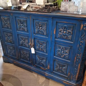 Medallion Console - Blue Electric