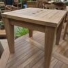 Teak Diamond Side Table