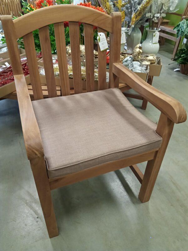 Teak English Arm Chair