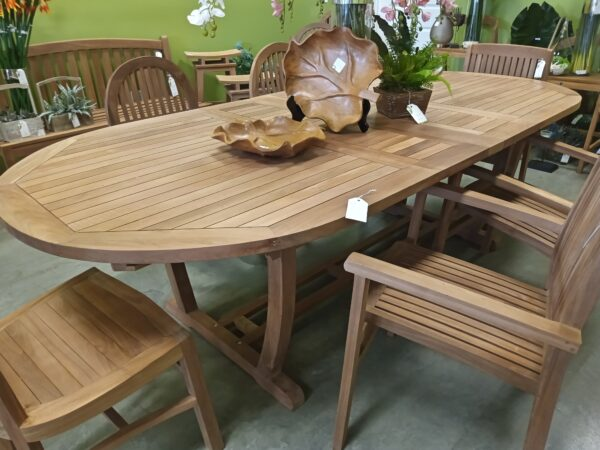 Teak Melody Extension Dining Table