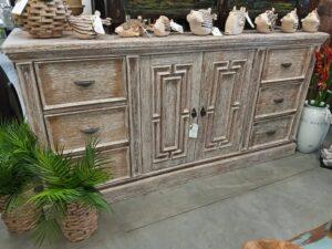 Van Buren Dresser - White Wash