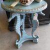 Seahorse Side Table - Ocean Blue