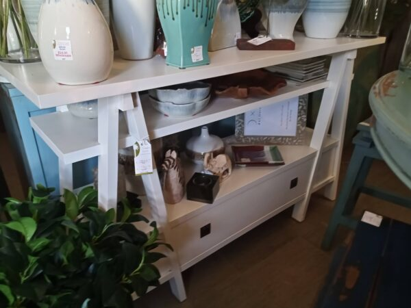 A-Frame Console - Solid White