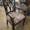 XX Arm Dining Chair - Black Electric