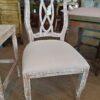 Ribbon Side Chair - White Wash
