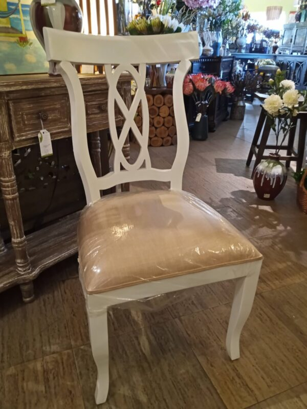 Ribbon Side Chair - Solid White